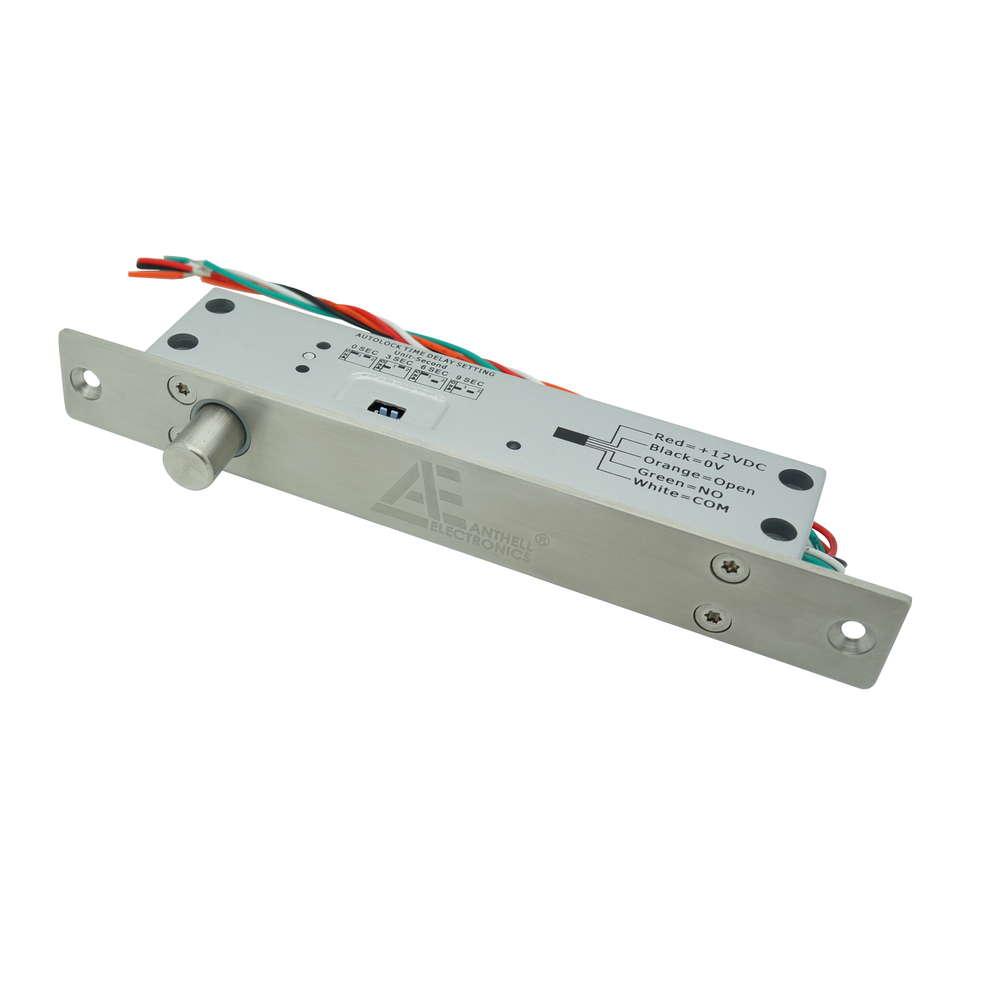ELEKTRISCHES BOLZEN-SCHLOSS 12V DC / FAIL SAFE (STROMLOS BOLZEN ...